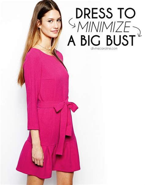 7 Style Tips For A Large Bustline by Dressing To Minimize A Big Bust Schuhe