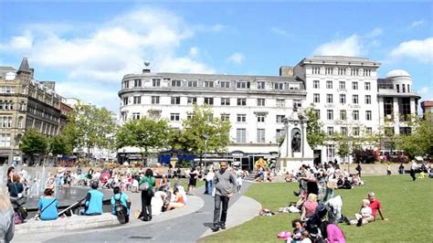 Manchester Gardens by Piccadilly Gardens Manchester