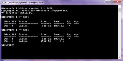 cara membuat usb bootable via cmd cara membuat bootable melalui cmd command prompt blog