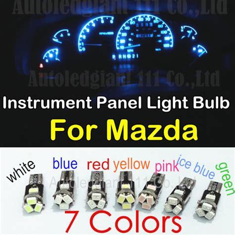 mazda 6 light bulb 10pieces t5 led for mazda 3 5 6 2 cx 5 cx 7 cx 9 mx 3 mx 5