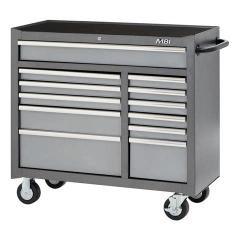 Husky 46 9 Drawer Mobile Work Center by Milwaukee Tool Storage The Home Depot