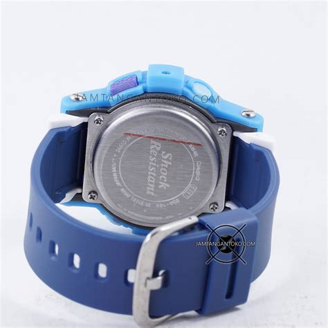 Casio Baby G 180 Ori Bm gambar baby g bga 180 2b3 biru original bm bagian belakang