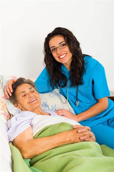 caring nurses stock photo image  carer hospital
