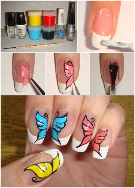 nail art tutorial butterfly this butterfly nail art is absolutely easy to design