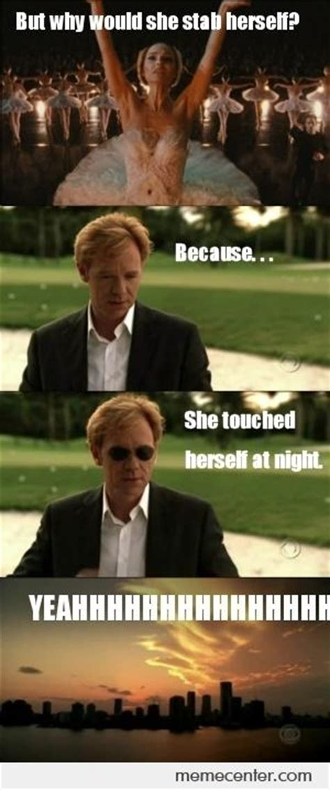 Horatio Caine Meme - horatio caine investigates black swan by ben meme center