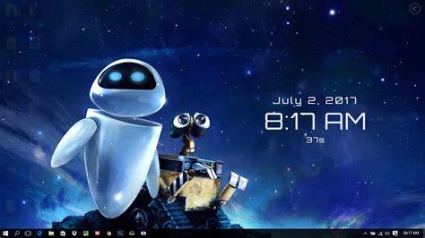 wallpaper engine clock wall e and eve wallpaper engine free download hindgrapha