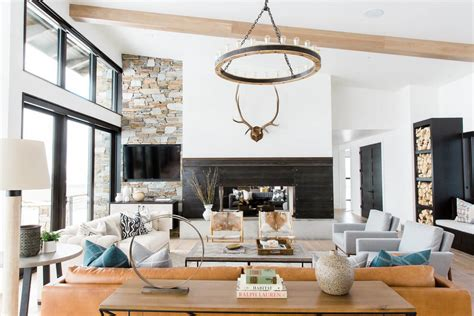 mountain home decor modern day mountain residence by studio mcgee decor advisor