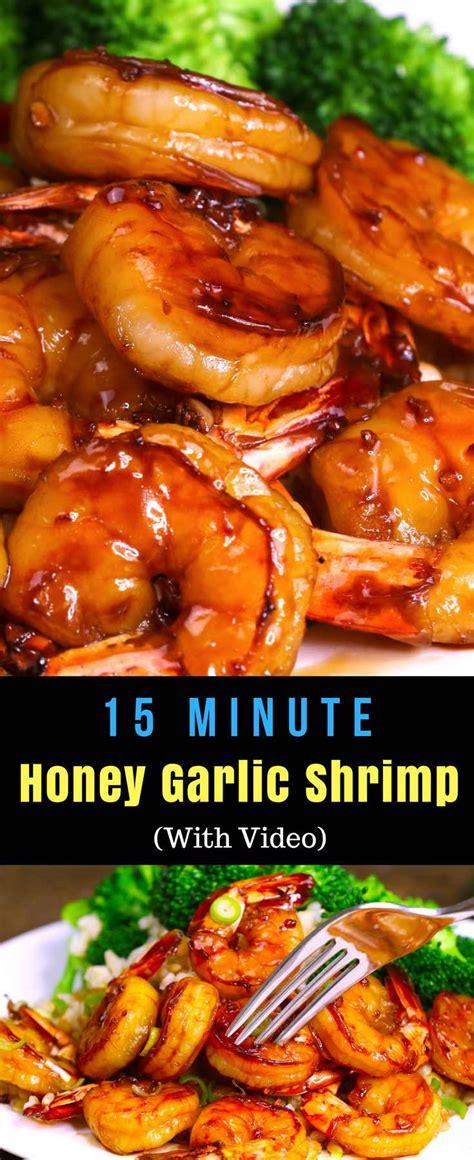 easy honey garlic shrimp  video tipbuzz