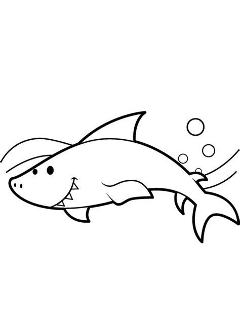 imagenes para colorear tiburon dibujos para colorear pintar e imprimir