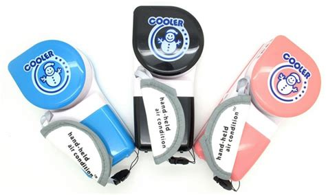 Pendingin Udara Mini Tempat Parfum mini handheld mini portable air conditioner usb fan pink