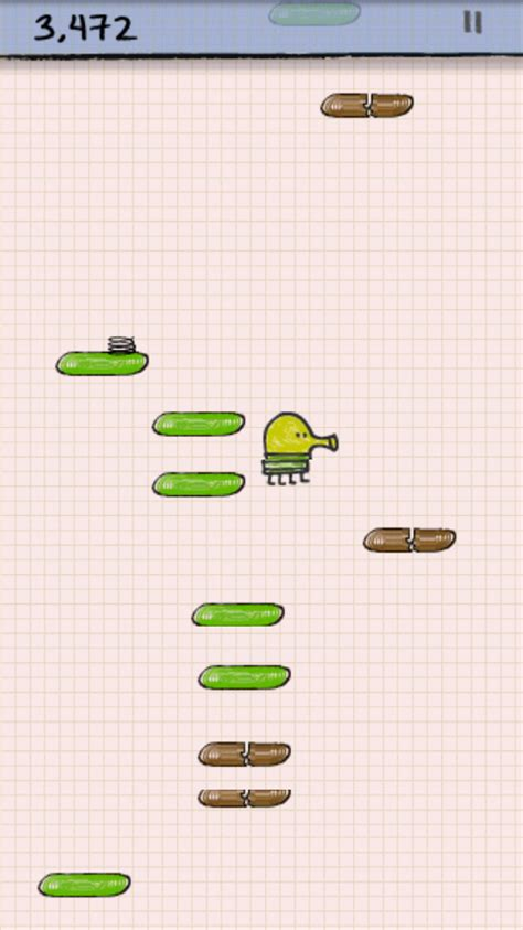 doodle jump android multiplayer ゲーム doodle jump ひたすら高くジャンプしつづけるアクションゲーム android アプリオ