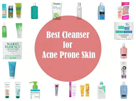 best acne cleanser best cleanser for acne prone skin top 3
