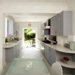 Galley Kitchen Layout Ideas Galley Kitchen Kitchen Design Decorating Ideas Housetohome Co Uk