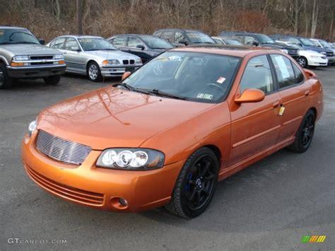 orange nissan sentra 2006 volcanic orange nissan sentra se r 59375648