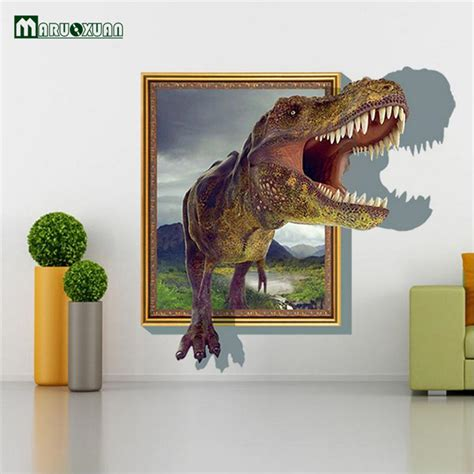 dinosaurs wall stickers bedroom dinosaur bedroom stickers reviews online shopping