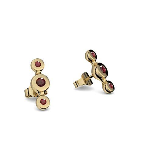 Ohrringe Kaufen by Ohrringe Aus Gold Granat Preisvergleich Die Besten