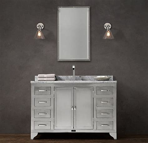 stainless steel sink restoration the 1930s laboratory bathroom collection by restoration