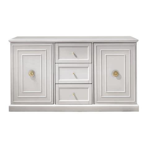 home decorators cupertino 3 drawer dove grey dresser