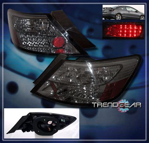 2008 honda civic third brake light 2006 2011 honda civic coupe led tail brake lights lamp