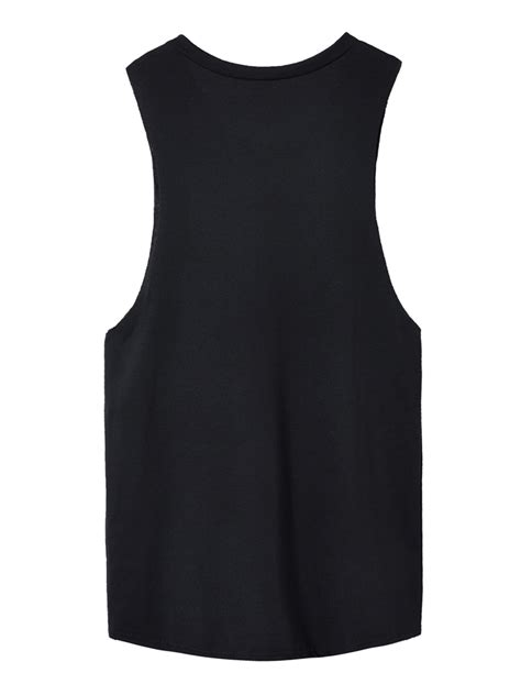 black vest pattern black sleeveless cat printing round neck sexy vest pattern