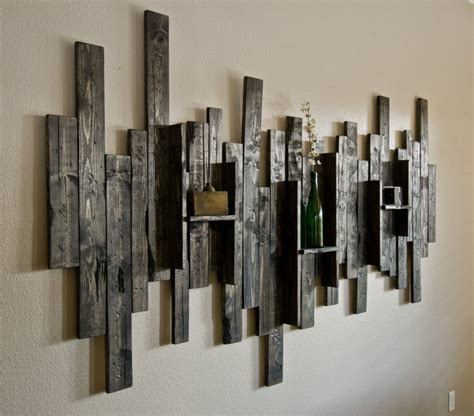 Creative Handmade Wall Hangings - 20 unique wall shelves you ll to put your stuff on