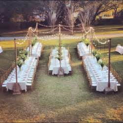 diy outdoor wedding lighting tried it tuesday and delicious wedding placeholder