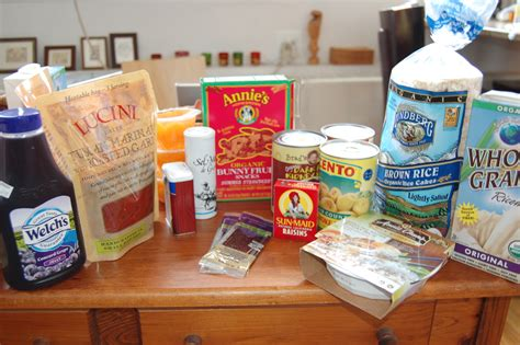 Shelf Stable Food List allergy what are allergen friendly shelf