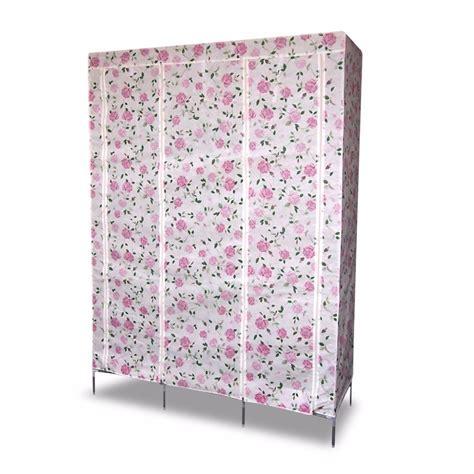 Fabric Wardrobe by Finether Modular Metal Framed Fabric Wardrobe