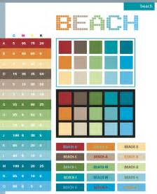 painting color schemes beach color schemes color combinations color palettes for print cmyk and web rgb html