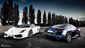 Lamborghini Audi Engine Audi R8 And Lamborghini Huracan Fitted With A And