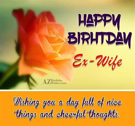 message for birthday wishes for ex