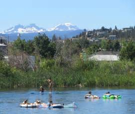 Floating The River In Floating The River Is One Of Bend Oregon S Most