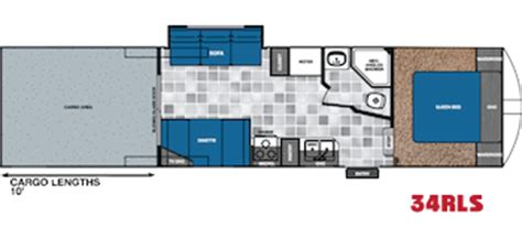 work and play floor plans forest river work and play floorplans for toy haulers