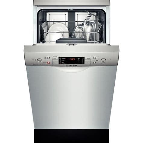 ada compliant kitchen appliances spe5es55uc bosch 500 series 18 quot ada compliant dishwasher