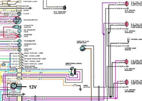 c3 corvette light wiring diagram c3 free engine