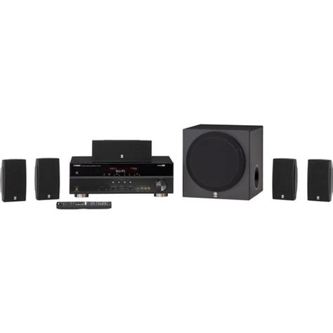 yamaha yht 495 5 1 channel home theater system black yht