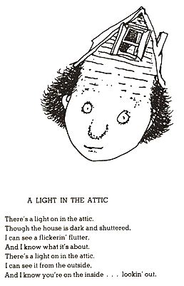 The Light In The Attic by Shel Silverstein A Retrospective