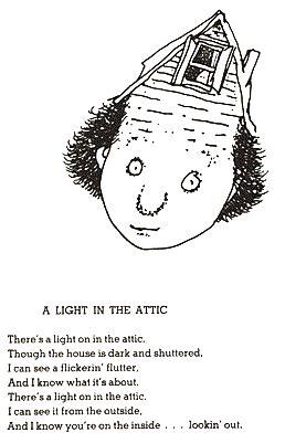 A Light In The Attic by Shel Silverstein A Retrospective