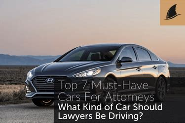 Car Lawyer In - top 7 must cars for attorneys black fin