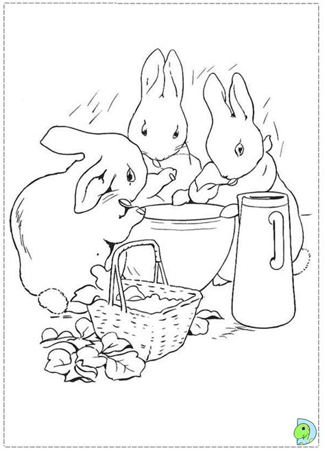 peter rabbit coloring page dinokids org