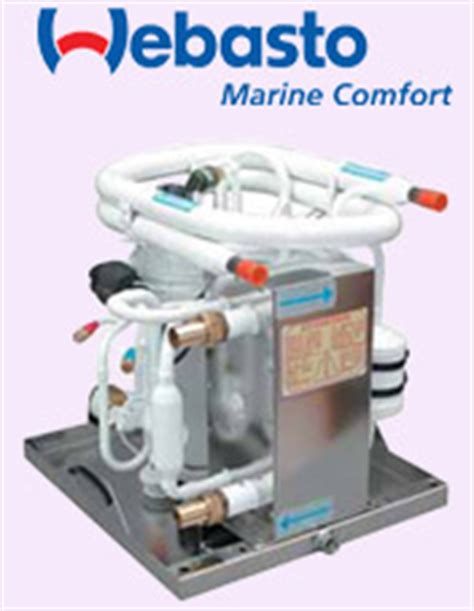 complete comfort systems boatcraft main dealer for webasto marine air conditioning