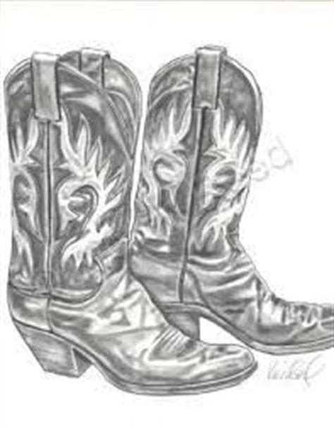 tattoo pen boots charcoal drawing of cowboy boots google search bilder