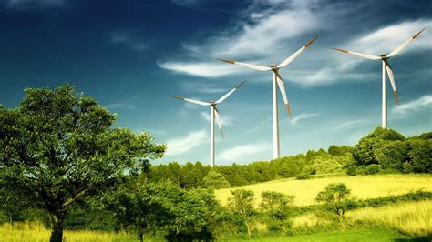 Windmills on the hill wallpaper   662884