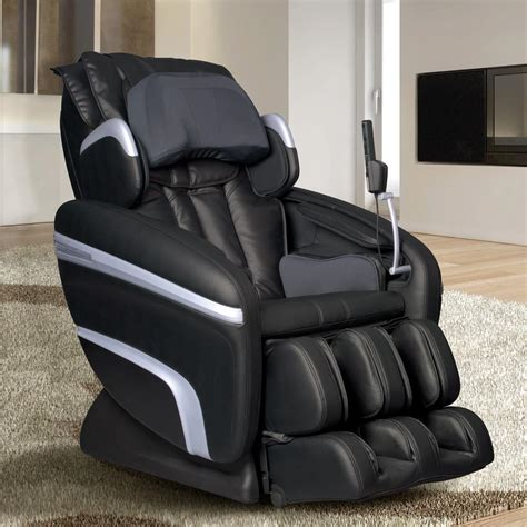 leather recliner massage chair titan osaki brown faux leather reclining massage chair