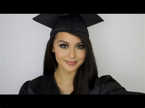 graduation hairstyles and makeup graduation makeup youtube