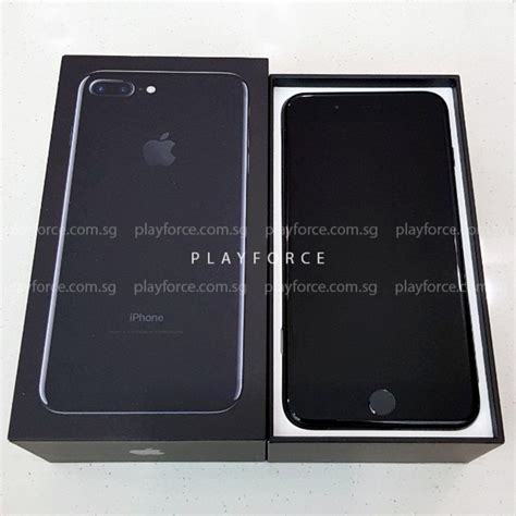 iphone 7 plus 128gb jet black playforce