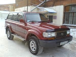 Toyota Land Cruiser 1996 1996 Toyota Land Cruiser Pictures