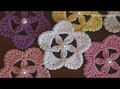 Bj 1204 Petal Pattern Blouse сrochet flower motif tutorial part 1 doovi