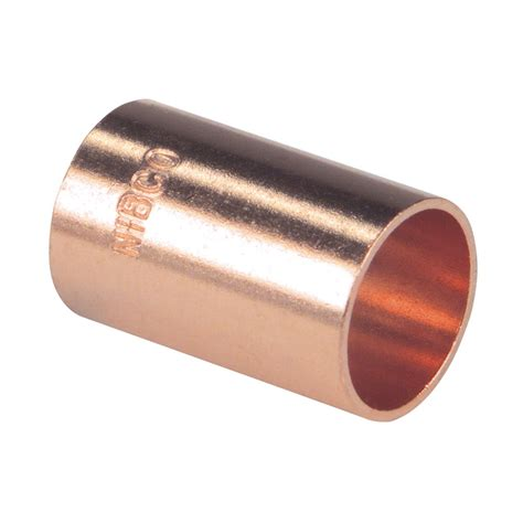3 8 l pipe shop 3 8 in x 3 8 in copper slip coupling fitting at lowes com