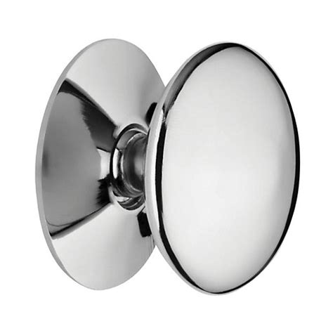 Wickes Kitchen Door Knobs by Wickes Knob Chrome 25mm 4 Pack Wickes Co Uk